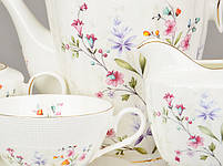 Чайный набор Lefard Цветы на 15 предметов 586-314, фото 2