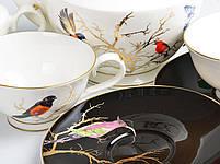 Чайный набор Lefard Золотые птицы на 14 предметов 264-635, фото 2