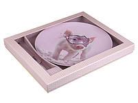 Тортовница с ложкой Lefard Свинка на маскараде 2 предмета 27 см 924-307, фото 2