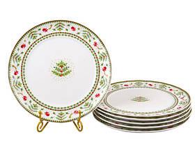 Набор тарелок Lefard Рождественская коллекция 26 см 6 шт 943-161