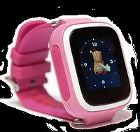 Смарт-часы Smart Baby Watch Q80 Pink