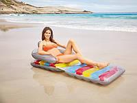 Надувной матрасдля пляжа