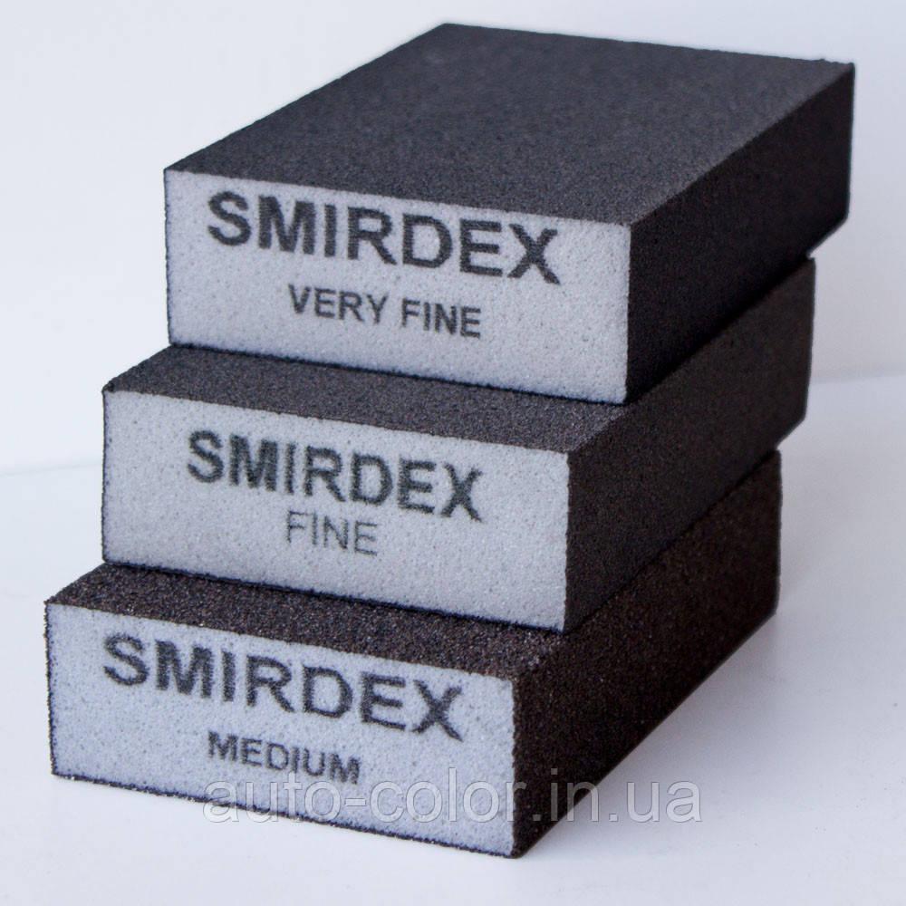 Шліфувальний брусок Smirdex Medium 100*70*25мм