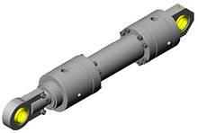 Фланцевый цилиндр 2F-ISO 6022 Effegi Systems