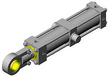 Гидравлический цилиндр 2T-ISO 6020/2 Effegi Systems