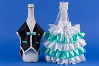 Мятное украшение для шампанского №6