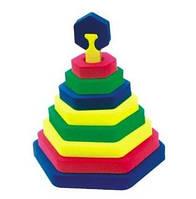 Піраміда Шестикутник