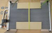 Радиатор кондиционера Daewoo Lanos 537*362 без осушителя