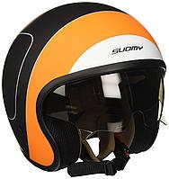Мотошлем Suomy Jet 70'S HD XL Черно-оранжевый (KS700009.6)
