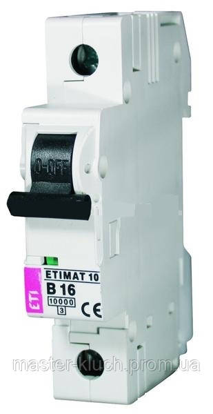 Автоматический выключатель ETI 1p 32A