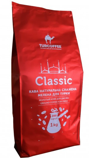 Кофе молотый Turcoffee Classic 1 кг (10006858)