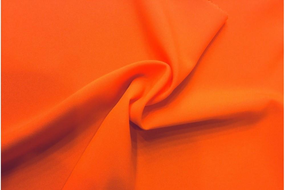 Трикотаж вискоза оранжевый