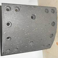Тормозные накладки AZ9231342018 на самосвал HOWO A7