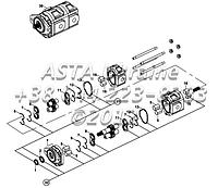 Насос, гидравлический, ХЕМА, ( 46/23 cc/rev ) E2-5-1-OP2, фото 1
