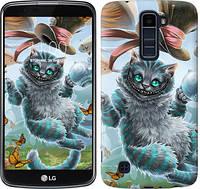 Чехол EndorPhone на LG K10 / K410 Чеширский кот 2 (3993m-349)