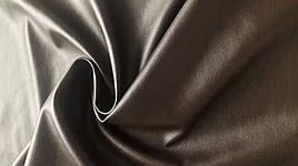 Стрейчевый кожзам коричневый