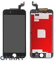 Дисплей для iPhone 6 черный (LCD экран, тачскрин, стекло в сборе)