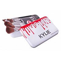 Набор профессиональных кисточек Kylie Professional Brush Set 12 шт