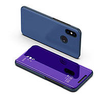 Чехол Mirror для Xiaomi Redmi Note 5 / Note 5 Pro книжка зеркальный Purple