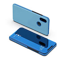 Чехол Mirror для Xiaomi Redmi Note 5 / Note 5 Pro книжка зеркальный Blue