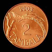Монета Малави 2 тамбала 2003 г.