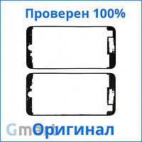 Оригинальная рамка для крепления дисплея iPhone 7 Plus черная