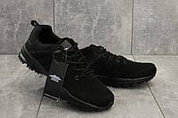 Кроссовки Baas мужские полностью черные текстильные M 641 -1 (Baas) весна/осень