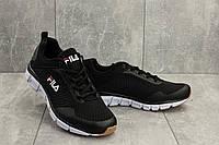 Черные кроссовки Fila мужские летние легкие на пенке G 5104 -5 (Fila) лето