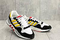 Кроссовки Adidas мужские текстильные белые весенние A 423 -4 (Adidas)