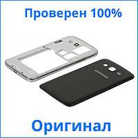 Оригинальный корпус Samsung G7102 Galaxy Grand 2 Duos черный, Оригінальний корпус Samsung G7102 Galaxy Grand 2 Duos чорний