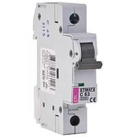 Автоматический выключатель ETI 1p 63A