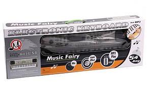 Детский синтезатор орган MQ-807 с USB mp3 54 клавиши, фото 2