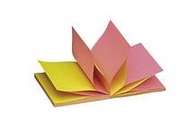 Самоклеющийся  блок  Z-образный 100 листов 75х75 мм  INFO NOTES