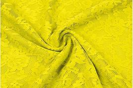 Гипюр желтый