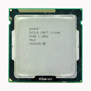 Процессор Intel Core i5-2400 3.10GHz/6M/5GT/s (SR00Q) s1155, tray
