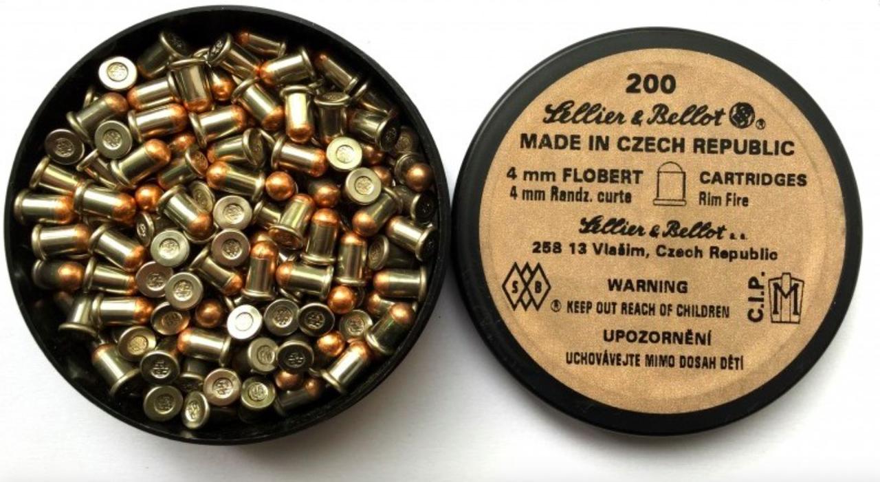 Патрон Флобера 4 мм. 100 шт.