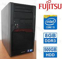 Fujitsu P9900 - Intel Core i5 / 8GB DDR3 / 500GB HDD Системный блок, Компьютер, ПК