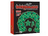 Магнитный конструктор Bornimago/Борнимаго Glow 120 деталей: светится в темноте