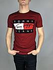 Брендовая Мужская Футболка Tommy Jeans Купить Оптом 7 км, фото 4