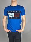 Брендовая Мужская Футболка Tommy Jeans Купить Оптом 7 км, фото 7