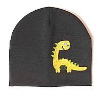 """Детская шапка """"Yellow dinosaur"""""""