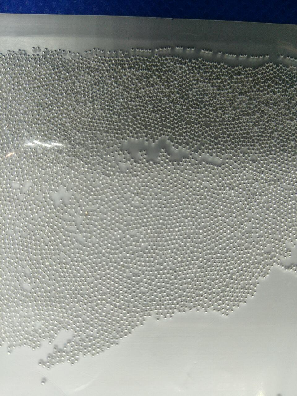Дрібні бульонки метал ( ікра для нігтів ) для дизайну нігтів 0,6 мм - срібло