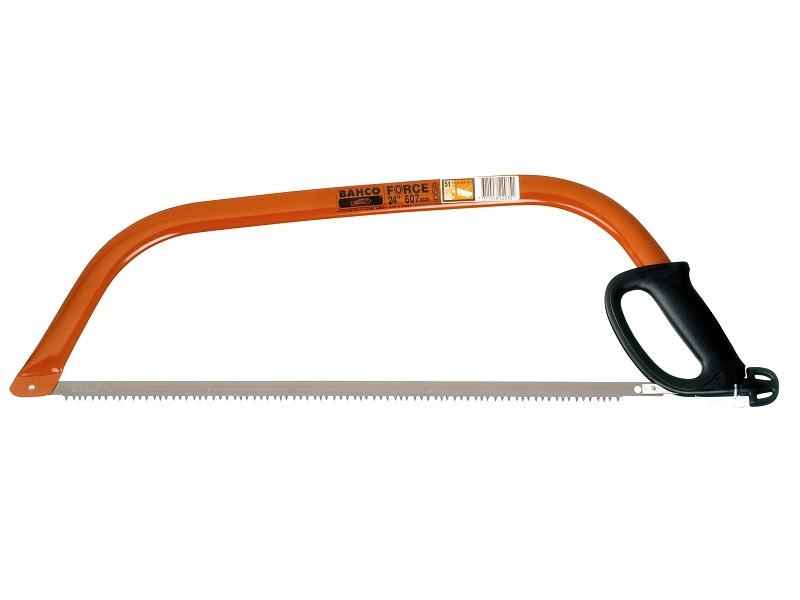 Лучковая пила Ergo 530мм с полотном для сухой древесины, BAHCO 10-21-51
