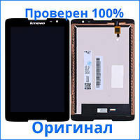 Дисплей Lenovo IdeaTab A5500 черный (LCD экран, тачскрин, стекло в сборе), Дисплей Lenovo IdeaTab A5500 чорний (LCD екран, тачскрін, скло в зборі)