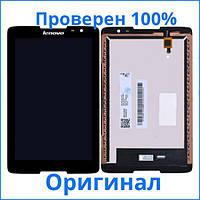 Original дисплей Lenovo IdeaTab A5500 черный (LCD экран, тачскрин, стекло в сборе), Original дисплей Lenovo IdeaTab A5500 чорний (LCD екран, тачскрін,