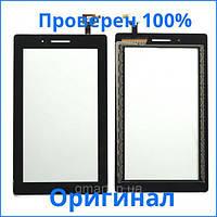 Оригинальный сенсорный экран Lenovo Tab 3 Essential 710L 3G черный (тачскрин, стекло в сборе), Оригінальний сенсорний екран Lenovo Tab 3 Essential