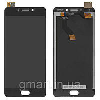 Дисплей для Meizu M6 Note черный (LCD экран, тачскрин, стекло в сборе), Дисплей Meizu M6 Note чорний (LCD екран, тачскрін, скло в зборі)