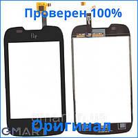 Original сенсорный экран Fly IQ431 Glory черный (тачскрин, стекло в сборе), Original сенсорний екран Fly IQ431 Glory чорний (тачскрін, скло в зборі)