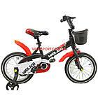 Детский велосипед WeilAixi 16 дюймов черный, фото 2