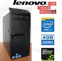 Lenovo M90P - Core i5 3.2GHz/ 4GB DDR3/ GeForce GTX750 1GB DDR5/ 500GB HDD Системный блок, Компьютер, ПК